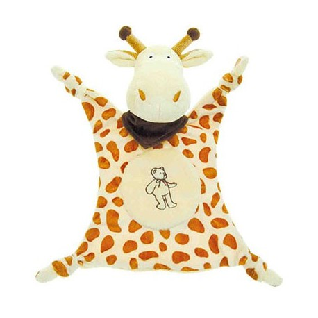"Doudou Girafe ""La Jungle"" 22 cm"