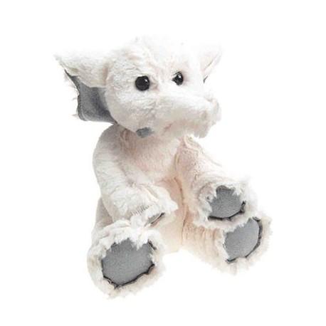 l'Eléphant FRELUCHE 22 cm blanc