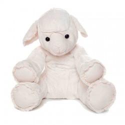 BICHON  le mouton 40 cm blanc