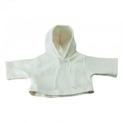 sweat à capuche TPM blanc