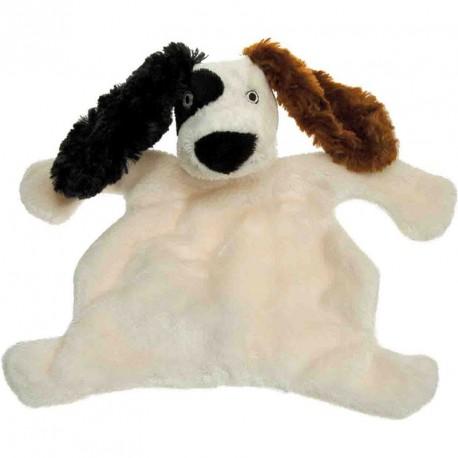 Doudou beige/marron PUNK DOG 23 cm