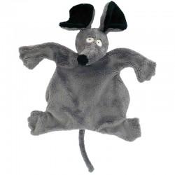 Doudou gris MOUSIFICATION, 23 cm