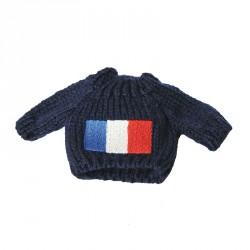 Pull drapeau français MM