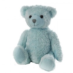 Ours Hippolyte bleu, 30 cm